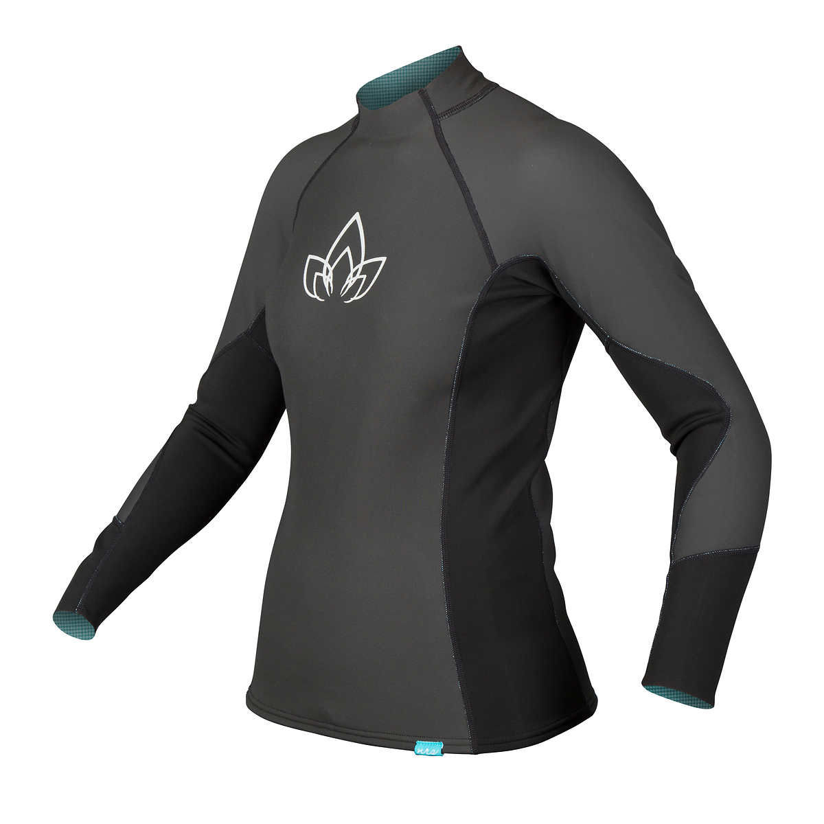 photo: NRS Women's HydroSkin 1.0 Shirt - L/S long sleeve paddling shirt