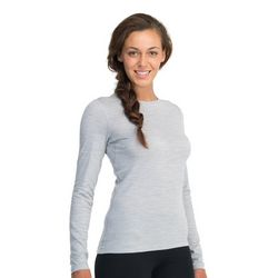 photo: Icebreaker Women's Oasis Long Sleeve Crewe base layer top