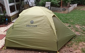 A couple of shots below from its initial setup : tungsten 2p tent - memphite.com