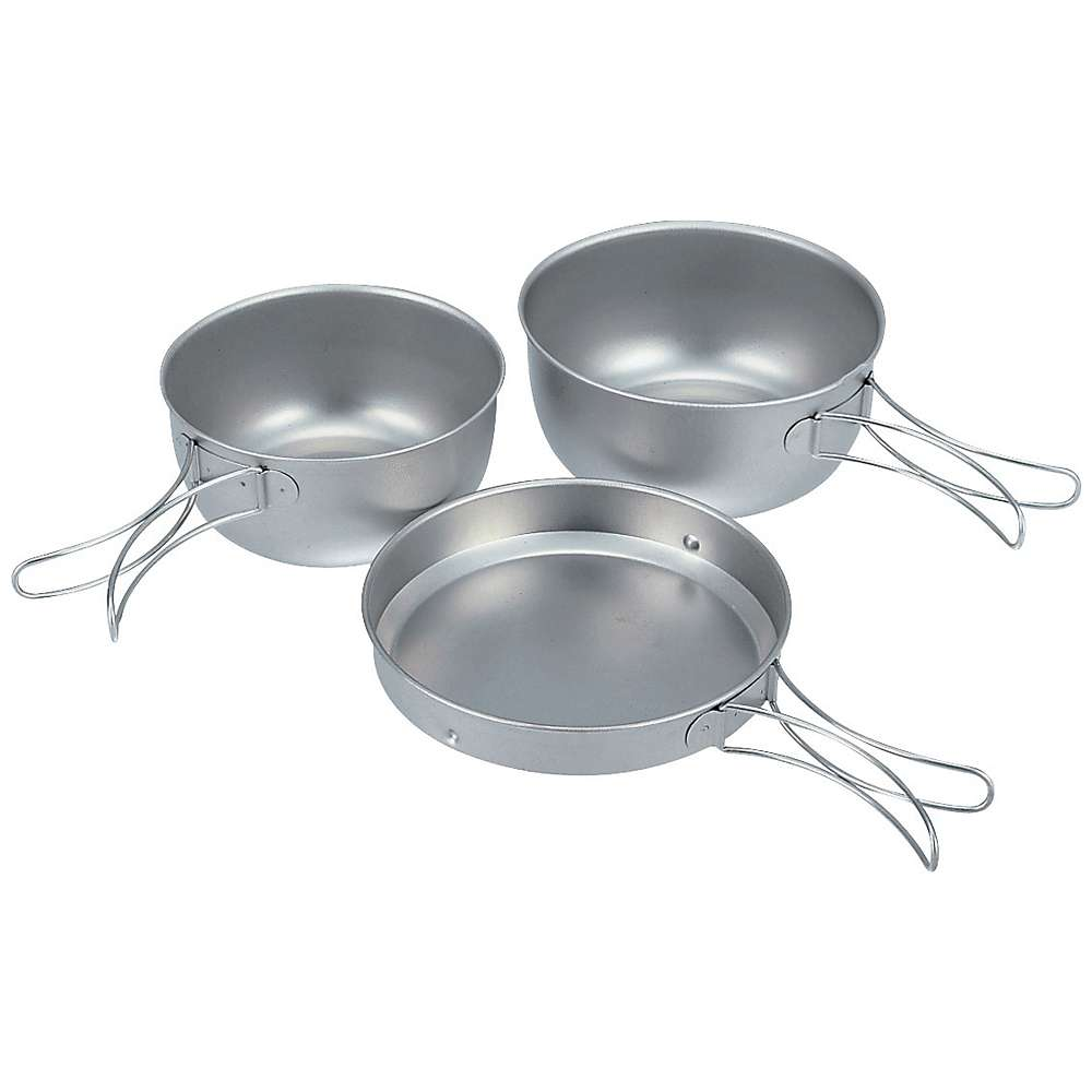 Snow Peak Titanium Cook Set, 3Pcs