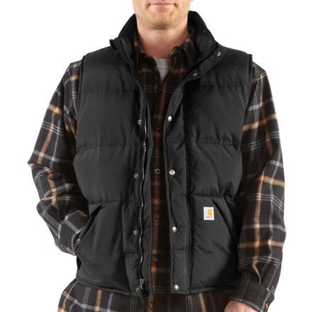 photo: Carhartt Down Kalkaska Vest down insulated vest