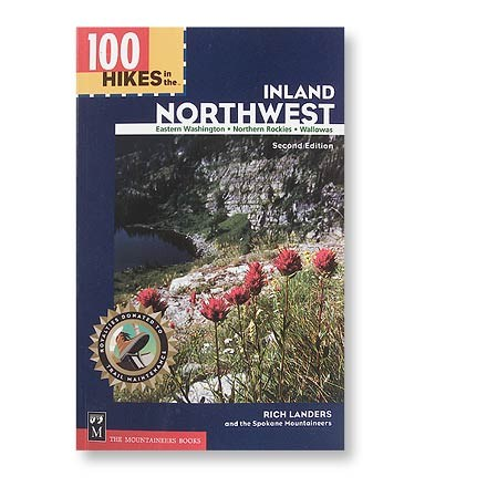 photo: The Mountaineers Books 100 Hikes in the Inland Northwest us pacific states guidebook