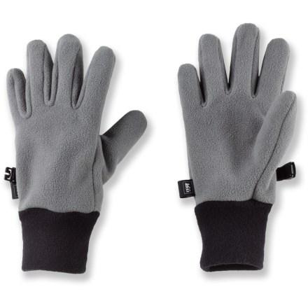 REI Windclimate Fleece Gloves