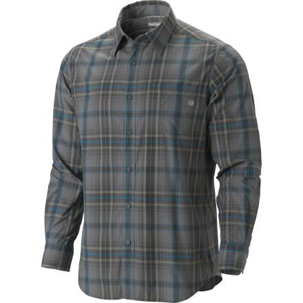 photo: Marmot Flagstone Long-Sleeve hiking shirt