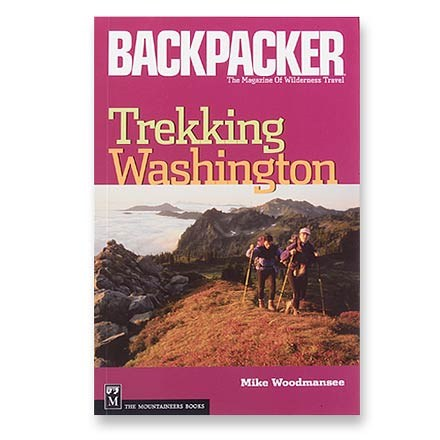 photo: The Mountaineers Books Trekking Washington us pacific states guidebook