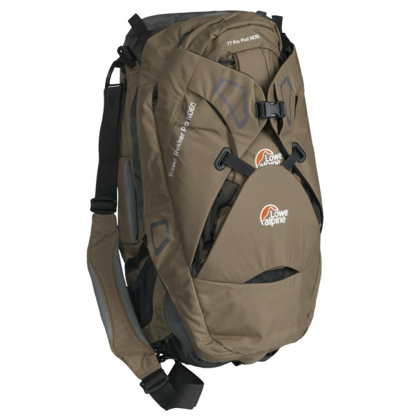 photo: Lowe Alpine Travel Trekker Pro ND 60+16 weekend pack (3,000 - 4,499 cu in)