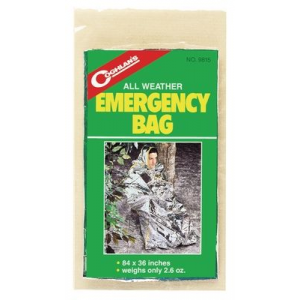 photo: Coghlan's All-Weather Emergency Bag emergency shelter