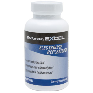 photo: Endurox Excel Electrolyte Replenisher drink