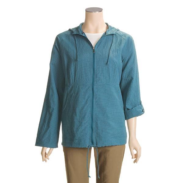 photo: ExOfficio Dryflylite Long-Sleeve Cover Check hiking shirt