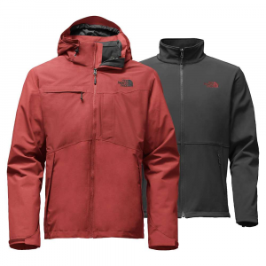 photo: The North Face Men's Condor TriClimate Jacket component (3-in-1) jacket