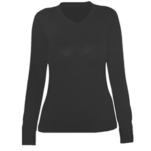 photo: Terramar Thermawool Merino Wool 2.0 V-Neck base layer top