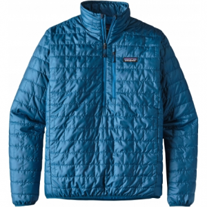 photo: Patagonia Nano Puff Pullover synthetic insulated jacket