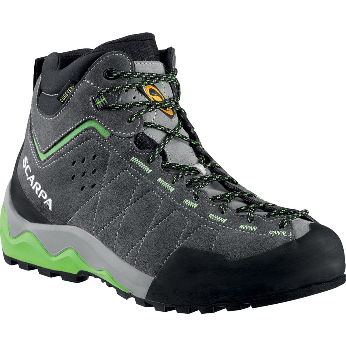 photo: Scarpa Tech Ascent GTX approach shoe