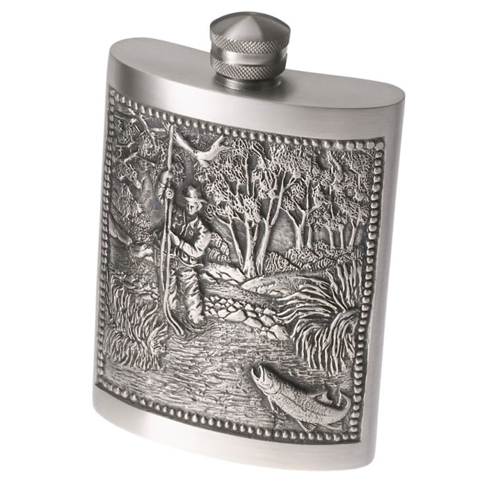 GSI Outdoors Pewter Flask