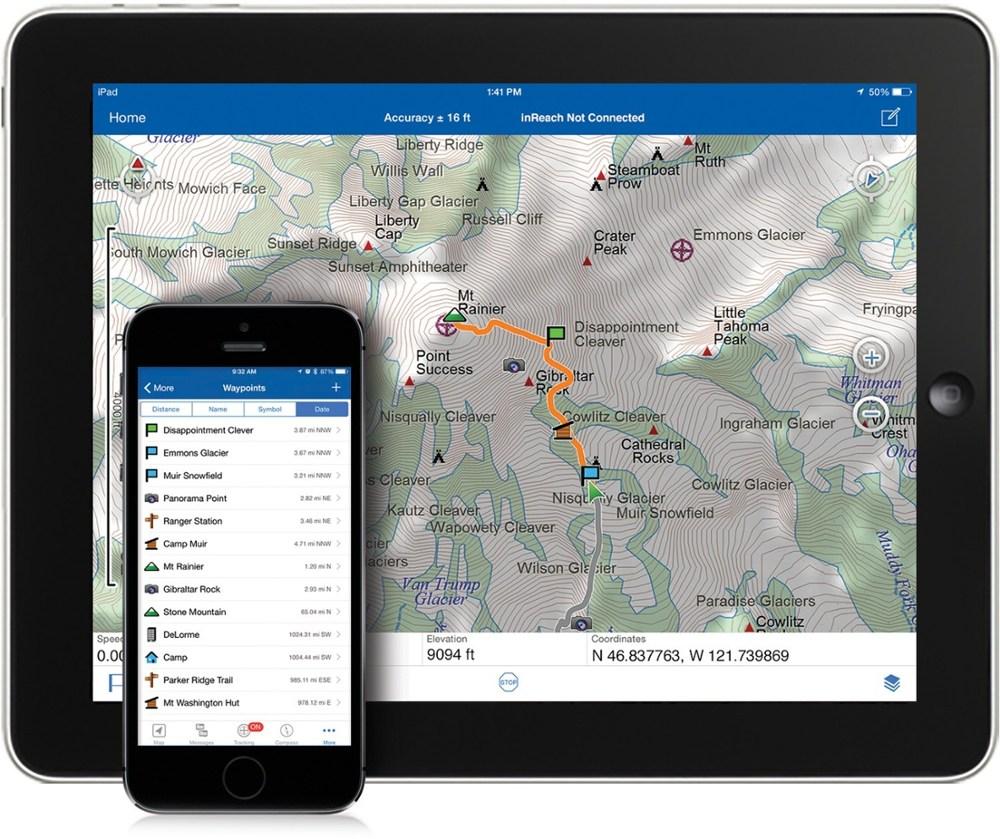 DeLorme Earthmate App for Mobile