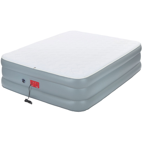 Coleman Double High QuickBed Air Bed Electric Pump Combo