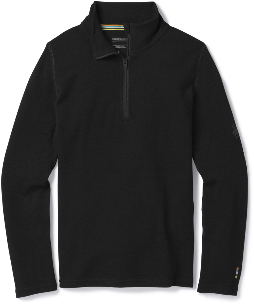 photo: Smartwool Kids' Lightweight Zip T base layer top