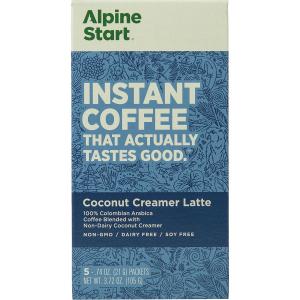 Alpine Start Coconut Creamer Latte