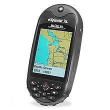 photo: Magellan eXplorist XL handheld gps receiver