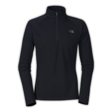 photo: The North Face Men's Light Long-Sleeve Zip Neck base layer top