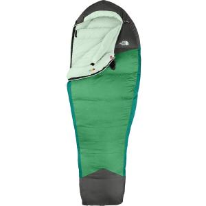 photo: The North Face Women's Green Kazoo 3-season down sleeping bag