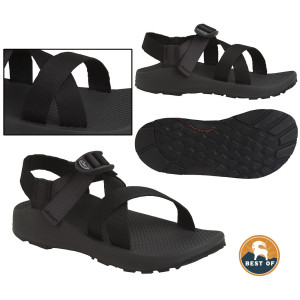 photo: Chaco Men's Z/1 Diamond Stealth sport sandal