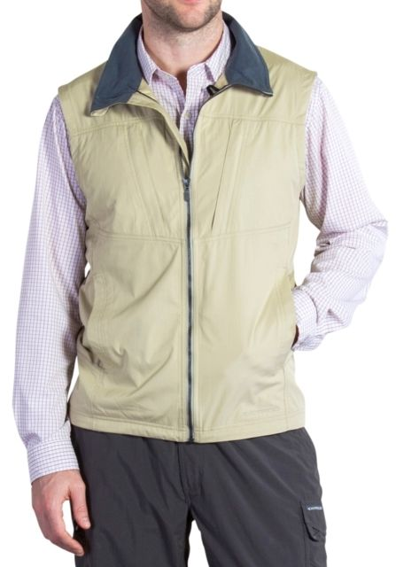 photo: ExOfficio FlyQ Vest soft shell vest