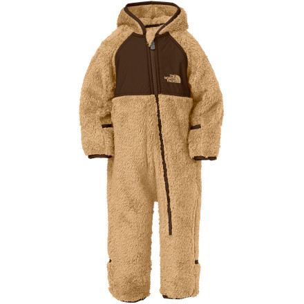 photo: The North Face Girls' Plushee Fleece Bunting kids' snowsuit/bunting