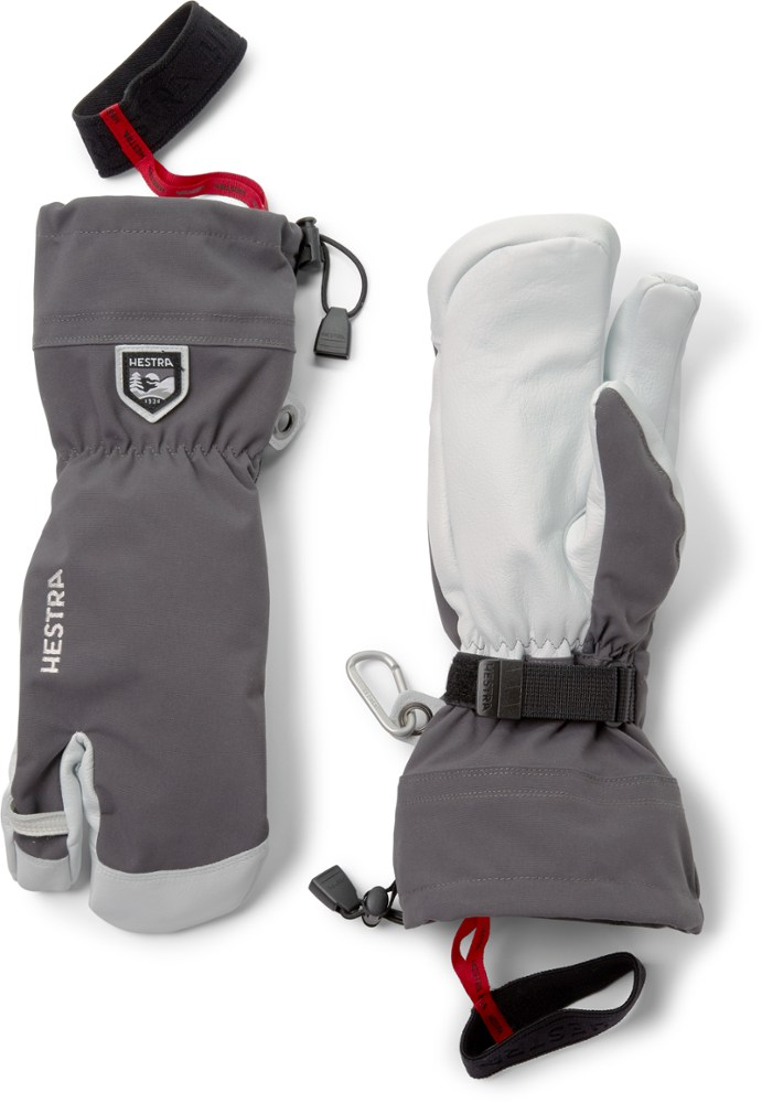 photo: Hestra Heli 3-Finger Glove insulated glove/mitten