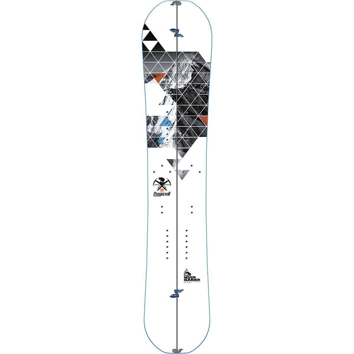 photo of a Never Summer splitboard