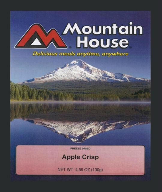 photo: Mountain House Apple Crisp dessert