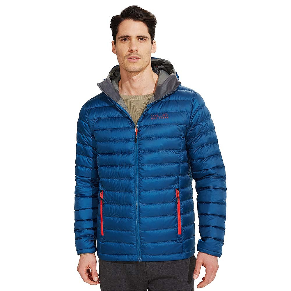 photo: Live Out There Assiniboine Down Hooded Jacket down insulated jacket