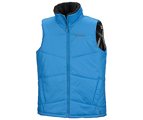 photo: Columbia Insulated Heat Excursion Vest Omni-Heat synthetic insulated vest