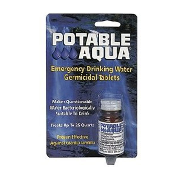 Potable Aqua Water Purification Tablets
