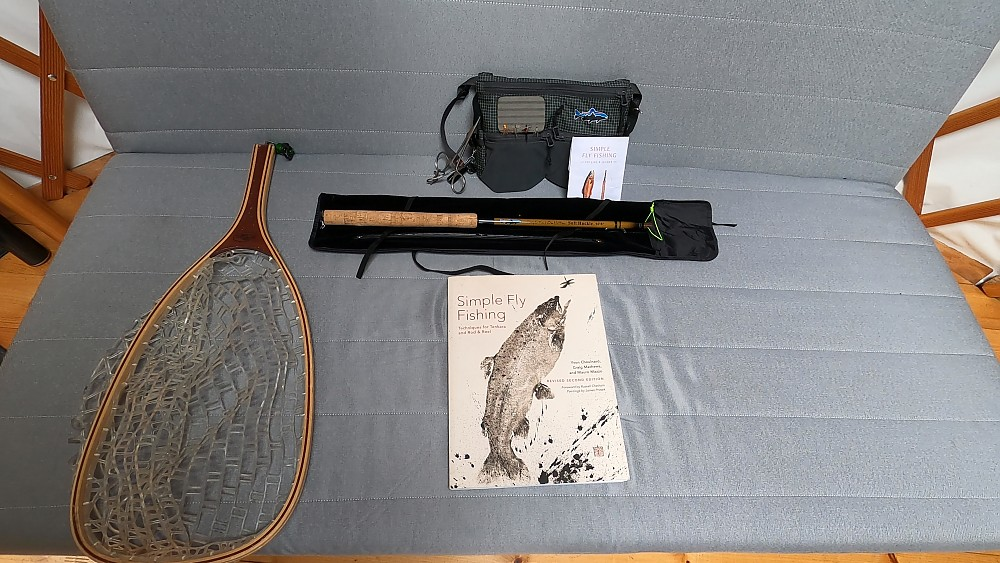 photo: Patagonia Simple Fly Fishing: Techniques For Tenkara And Rod & Reel outdoor skills book