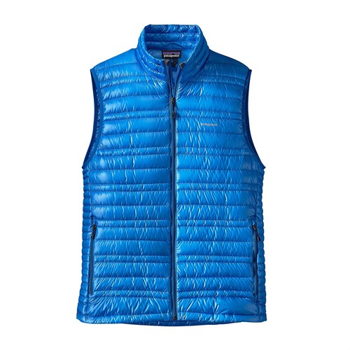 photo: Patagonia Men's Ultralight Down Vest down insulated vest