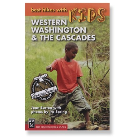 photo: The Mountaineers Books Best Hikes with Kids -  Western Washington & the Cascades us pacific states guidebook
