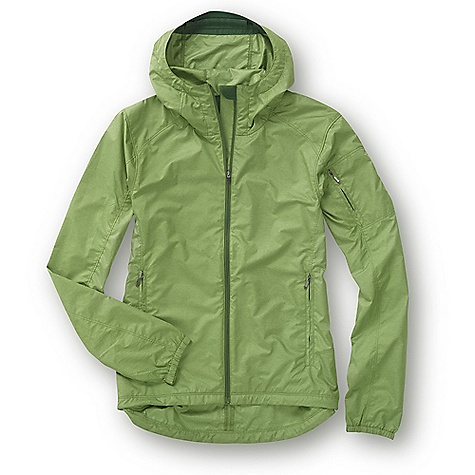 photo: Ibex Women's Momentum Jacket wind shirt