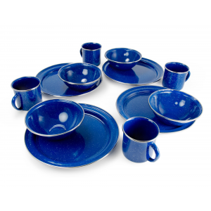 photo: GSI Outdoors Pioneerware Camp Set plate/bowl