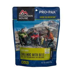 photo: Mountain House Chili Mac with Beef Pro-Pak meat entrée