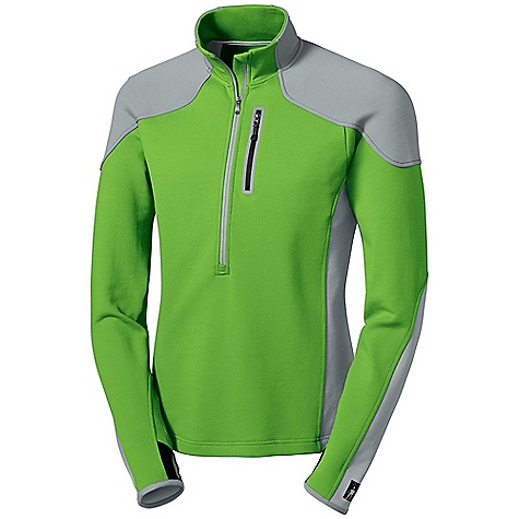 photo: Smartwool Men's TML Mid Half-Zip long sleeve performance top