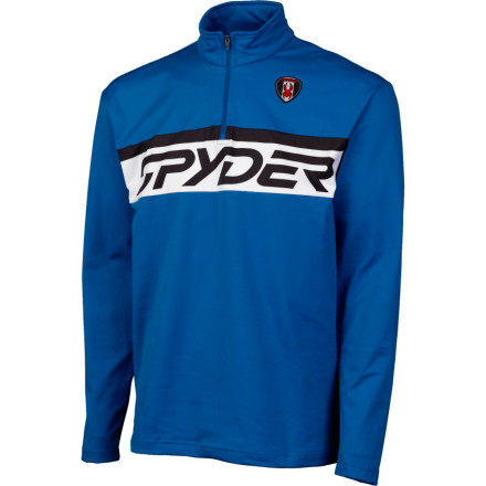 photo: Spyder Thermastretch T-Neck fleece top