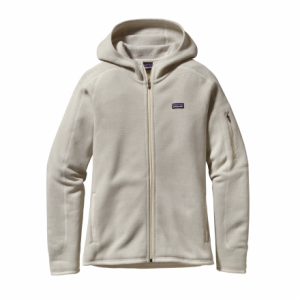 photo: Patagonia Women's Better Sweater Hoody fleece jacket