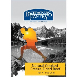 photo: Backpacker's Pantry Freeze-Dried Cooked Beef snack/side dish