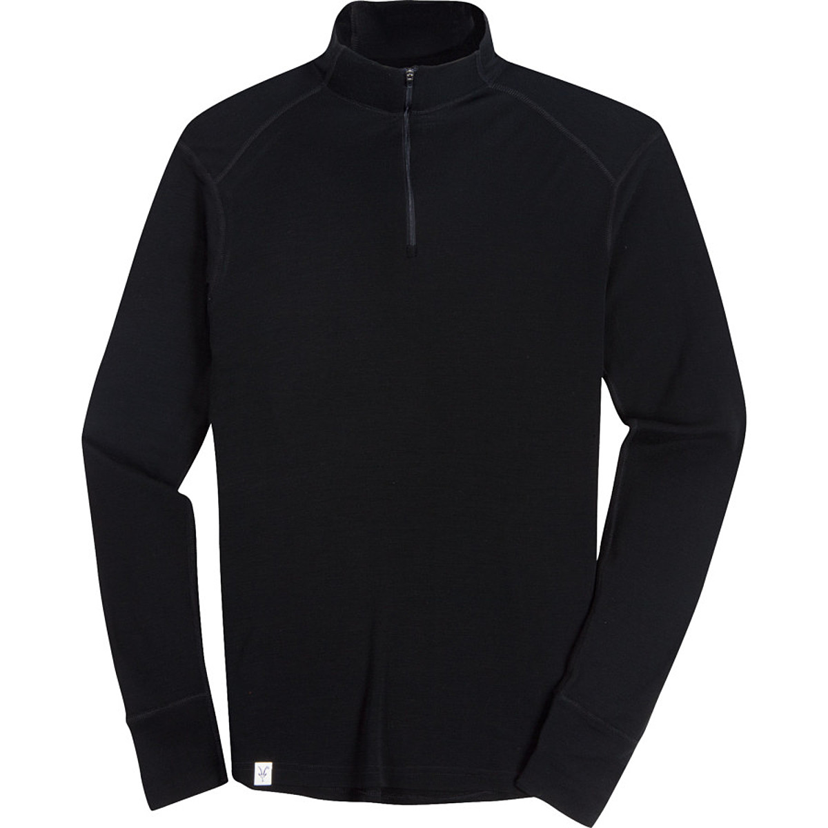 photo: Ibex Men's Woolies 220 Zip T base layer top