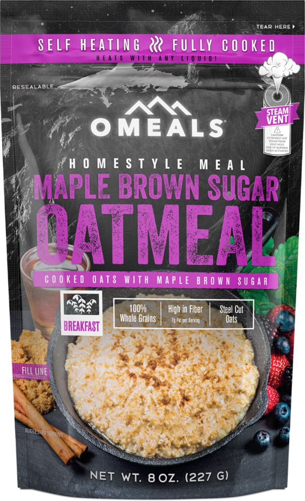 OMeals Maple Brown Sugar Oatmeal