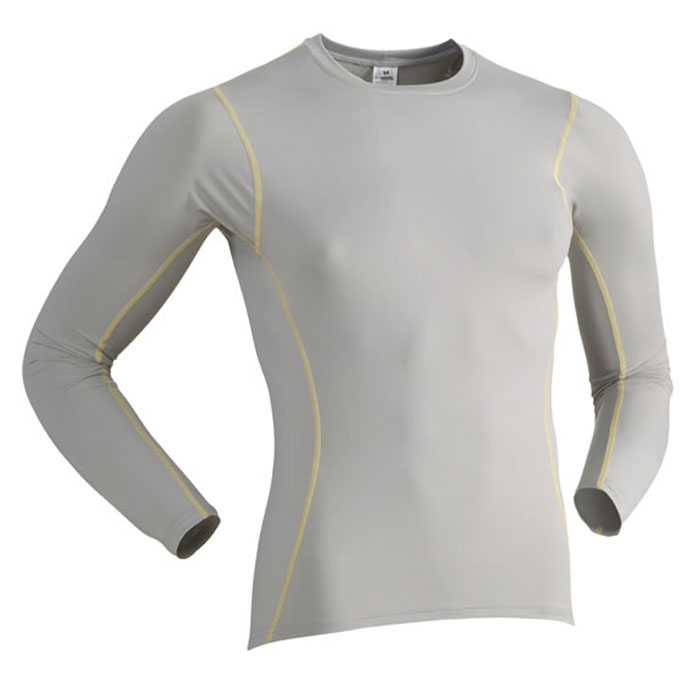 Immersion Research Long Sleeve Silk Skin Top