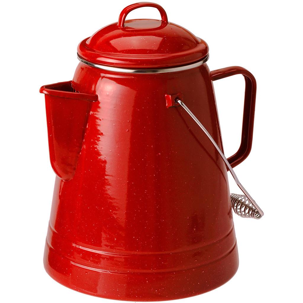 GSI Outdoors Enamelware 36 Cup Coffee Boiler