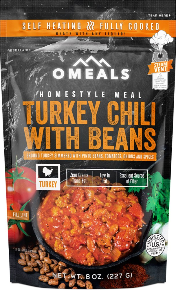 photo: OMeals Turkey Chili with Beans soup