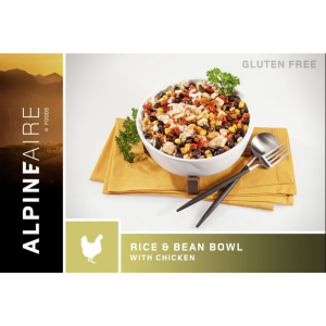 AlpineAire Foods Rice & Bean Bowl with Chicken